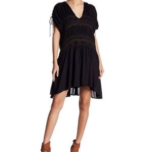 NWT free people smocked dress size XS